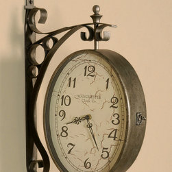 "6714 Malvina, Clock by Uttermost - Get 10% discount on your first order. Coupon code: ""houzz"". Order today."