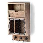 Reclaimed Wood Bathroom Shelf - Rustic - Bathroom Cabinets And Shelves - by (del)Hutson Designs