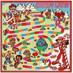 Candy Land Game Rug - Candy is dandy, and this is a childhood classic blown up to life size!