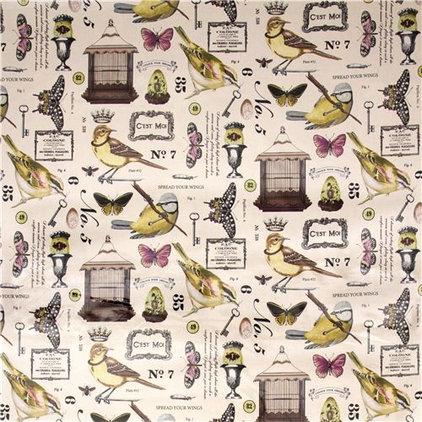 Fabric Michael Miller premium laminate fabric Wing Study