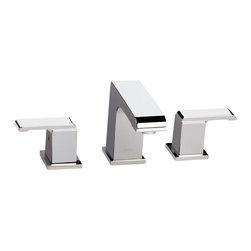 Delta - Arzo Two Handle Widespread Bathroom Faucet in Chrome - Delta 3586LF-MPU Arzo Two Handle Widespread Bathroom Faucet in Chrome