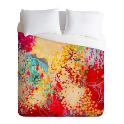 DENY Designs - Stephanie Corfee Young Bohemian Duvet Cover - Turn your basic, boring down comforter into the super stylish focal point of your bedroom. Our Luxe Duvet is made from a heavy-weight luxurious woven polyester with a 50% cotton/50% polyester cream bottom. It also includes a hidden zipper with interior corner ties to secure your comforter. it's comfy, fade-resistant, and custom printed for each and every customer.