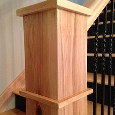 Craftsman Staircase by Longview Builders, Inc.
