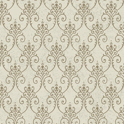 York Wallcoverings - PS3850 Wallpaper, Double Roll - Prepasted: Paste has already been applied to the back of the wallpaper and is activated with water.