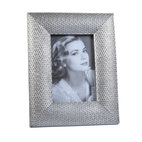 "Concepts Life - Concepts Life Photo Frame  Loving Link  4x6"" - Inspired by fine jewelry, these silver Loving Link frames will add sparkle and a hint of romance to your photograph collection. Ideal for your home as well as for your loved ones!  Modern home accent Contemporary silver picture frame Beautiful and elegant home accent Rectangular photo frame Made of polyresin Textured finish Easel back for horizontal or vertical display Various sizes available Holds 4 x 6 in. size photo Dimensions: 7""w x 9""h x 1""d Weight: 1.5 lbs"