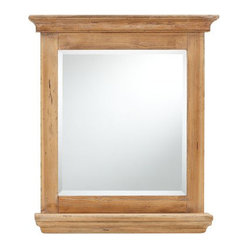 Products Pottery Barn Oval Rustic Wood Mirror Design