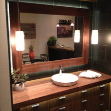 Contemporary  by Don vonAhlefeld, Hayes Cabinets Inc.