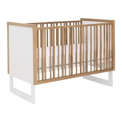 Nurseryworks - Nurseryworks | Loom Crib - Design by Nurseryworks.The Loom Crib by Nurseryworks exudes modern charm and expert craftsmanship. Inspired by Shaker design, Loom offers a simplified, sleek aesthetic that blends seamlessly within a wide range of interior designs. The variation of its slats intrigues the eye as much as it ensures baby's safety. Slats and frame are available in three finishes, all beautiful complements to the Snow White panels and sled legs. Features fixed side rails, three adjustable mattress levels. All components are made with non-toxic materials  and painted with low VOC lacquer. Even the teething rail is safety tested and is phthalates safe. Fits standard U.S. crib mattress (not included).  When your little one grows up, the Loom Crib easily converts to a toddler daybed with the Optional Conversion Kit (sold separately), adding a built-in guardrail and an easy crawl-in space for toddlers. Select Snow, or Light Catalpa finish. Winner of the Babble Best 2011 Cribs.  Product Features:  Fixed side rails/slats Three adjustable mattress height points Fits a standard U.S. crib mattress (not included) Maximum weight 50 lbs.  (Change to toddler bed once baby reaches 35 inches in height) Converts to toddler daybed with optional Conversion Kit (sold separately) Maximum weight 50 lbs. (Change to toddler bed once baby reaches 35 inches in height.) Non-toxic, fire/decay resistant and safe lacquer and veneer Eco-friendly materials and processing employs sustainable wood, low VOC lacquer/stain and recycled cardboard packaging Certified by the Juvenile Products Manufacturers Association Meets ASTM International standards