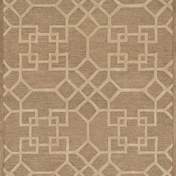 "Loloi Rugs - Loloi Rugs Celine Collection - Camel / Beige, 7'-10"" x 11' - Combining sophisticated tonal colors with geometric patterns, the Celine Collection is a great option for modern interiors. The collection is hand hooked in India of 100% wool, with high pile defining the pattern and adding texture. Available in a variety of sizes to suit any room.�"