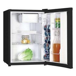 "Avanti - 2.4 CF Deluxe Compact Refrigerator - Dimensions: 25.25""H x 17.25""W x 20""D"