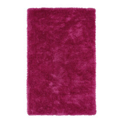 Kaleen - Kaleen Posh Collection PSH01-92 5' x 7' Pink - Posh is the perfect rug to make your feet say ooh and ahhh!! Super plush and silky to the touch, this hot new shag rug is exactly what your room has been asking for! Find the perfect spot to curl up on after a long day or bring in your favorite pop of color for a complete room makeover. The Posh collection allows for diversity and fashionable style for all of your decorating needs with over 20 colors to choose from. Each rug is handmade in China of the finest 100% polyester.