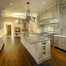 Traditional Kitchen Cabinetry by MICHAEL MOLTHAN LUXURY HOMES