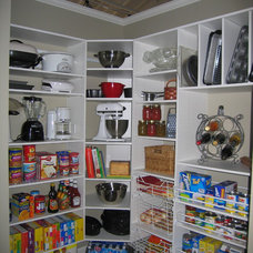 Traditional Kitchen by Closet Logic