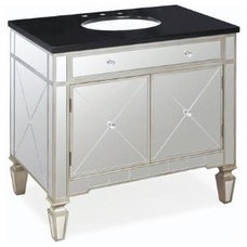 Contemporary Bathroom Vanities And Sink Consoles by Inspired Home Decor