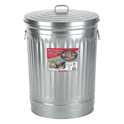 Behrens 31-Gallon Steel Trash Can - Skip the stand and use a steel can to hold your Christmas tree instead.