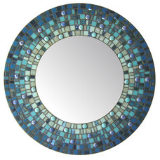 Eclectic Wall Mirrors by Opus Mosaics