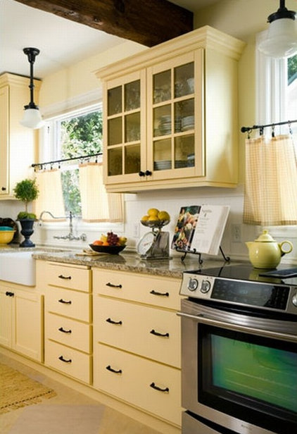 traditional kitchen by Donna DuFresne Interior Design