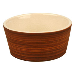 Waechtersbach - Pure Nature Moon Set of 4 Dipping Bowls - A set of small dipping bowls always comes in handy — especially when entertaining. The earthy and natural appeal of this set of four makes it perfect for mixing and matching with most any decor, and you'll love the beautiful cracked glaze that gives this set its signature look.