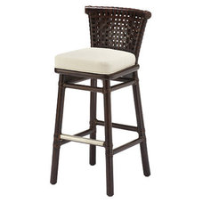 traditional bar stools and counter stools by McGuire Furniture Company