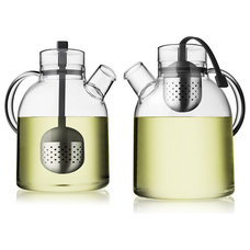 modern coffee makers and tea kettles by HORNE