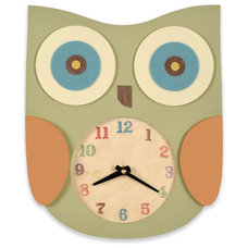 Kids Clocks by Belle and June