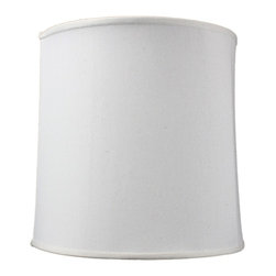 Home Concept - Drum Lampshade - Premium Light Oatmeal Linen - Home Concept Signature Shades feature the finest premium linen fabric. Durable Upholstery-Quality fabric means your new lampshade will last for decades. Our fabric is over 100% thicker than traditional shade fabric. It wont get brittle from smoke or sunlight like less expensive fabrics.