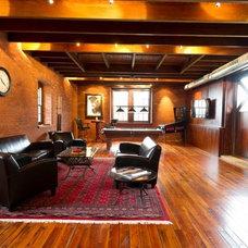 Traditional Family Room by Janiczek Homes