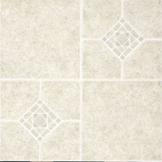 Traditional Vinyl Flooring by LIFESTYLE KITCHENS by The Kitchen Lady