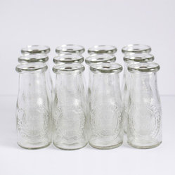 Small Glass Milk Bottles