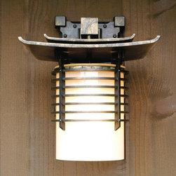 Takashima Sconce - Eleek's Takashima - Artful lines and balance grace this modern Japanese inspiration.