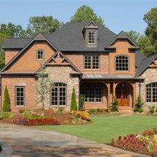 Traditional Exterior by O'Dea Properties Inc.
