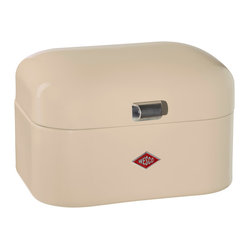 Wesco Single Grandy Bread/Storage Box, Almond