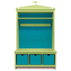 Eclectic Closet Storage by Cottage & Bungalow