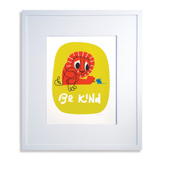 Be Kind Print - Limited edition signed screen print