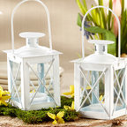 Candle Lantern - Luminous mini candle lanterns are perfectly charming and practical favor that can surely light your way. Your night garden reception in your special day becomes complete with these wind proof mini candle holders of unique lantern style. With its glass window design, your tea light candle flames will be perfectly protected from wind.