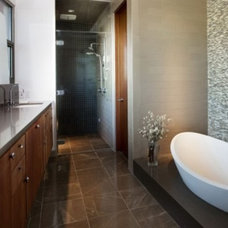 Modern Vanity Tops And Side Splashes by Hiltons Flooring