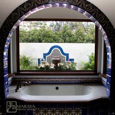 Mediterranean Bathroom by Maraya Interior Design