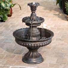 Traditional Outdoor Fountains And Ponds by SIMPLY FOUNTAINS