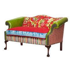Red and Green Settee