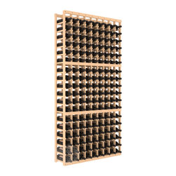 9 Column Standard Cellar Kit in Pine with Satin Finish - A 9 column solution from our most popular style of wine racking. Completely solid assembly to withstand extensive use. We guarantee it. All the edges of our products are softened to ensure you won't get nicks or splinters, like you will from budget brands. You'll be satisfied. We guarantee that, too.
