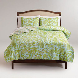 Bliss Paisley Quilt -