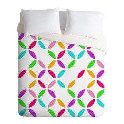 DENY Designs - Colour Block Duvet Cover - Colour Block Duvet Cover