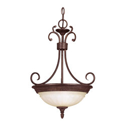 Savoy House - Savoy House KP-7-504-2-40 Liberty Pendant - Climb into your horse drawn carriage and go back in time with the Liberty collection. A dignified Colonial design with a rustic Walnut Patina finish almost makes this collection an amercian treasure.