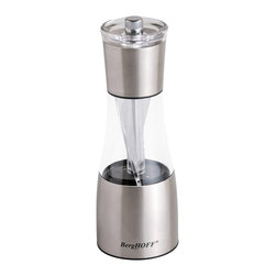 Berghoff - Berghoff Duo Salt and Pepper Mill - Choose to grind pepper or salt by turning the body clockwise or counterclockwise.