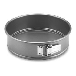 Anolon - Anolon Advanced Non-Stick Bakeware 9-Inch Springform Pan - This springform pan allows you to easily remove a delicate cake such as a cheesecake or torte without damaging it.