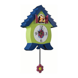 Xanadoo - MeowCoo Tommy Tango Cat Clock - Cuckoo Clocks for Kids