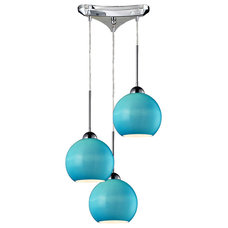 Eclectic Pendant Lighting by Arcadian Home & Lighting
