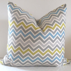 Chevron Pillow Cover By Studio Tullia - You can find any color pillow cover you could possibly want on Etsy. Chevron galore!