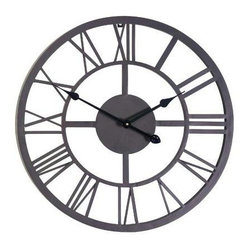 Gardman USA - Giant Roman Numeral Wall Clock - Giant Roman Numeral Wall Clock