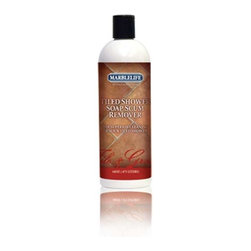 MARBLELIFE - MARBLELIFE Tile Soap Scum Remover 15 fl. oz. - Marblelife Tile Shower Soap Scum Remover is a truly unique product, in that it is an abrasive that will absolutely not scratch sensitive surfaces in tile showers, including glass, metal and plastic enclosures and fixtures. This product is odorless, easy to use and cuts soap scum like it's not even there. What's even better, Marblelife Tile Shower Soap Scum Remover can be rinsed away, rubbed away or allowed to dry and be buffed off depending on what is easier for you in each situation. Marblelife Tile Shower Soap Scum Remover also helps remove hard water spots. Depending on the severity, it can completely remove, or significantly reduce the appearance of, hard water spots. Absolutely a fantastic product.